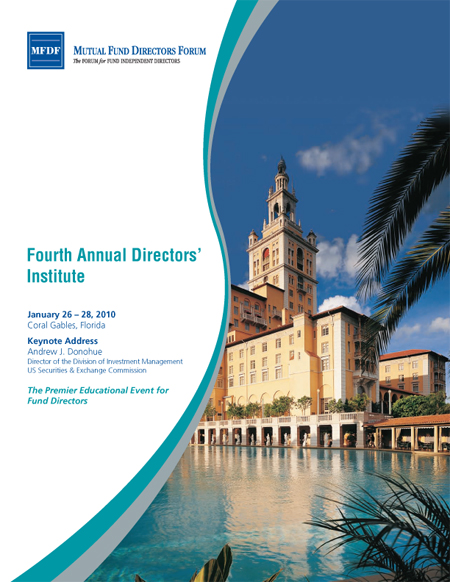 4th Annual Directors' Institute Brochure Cover